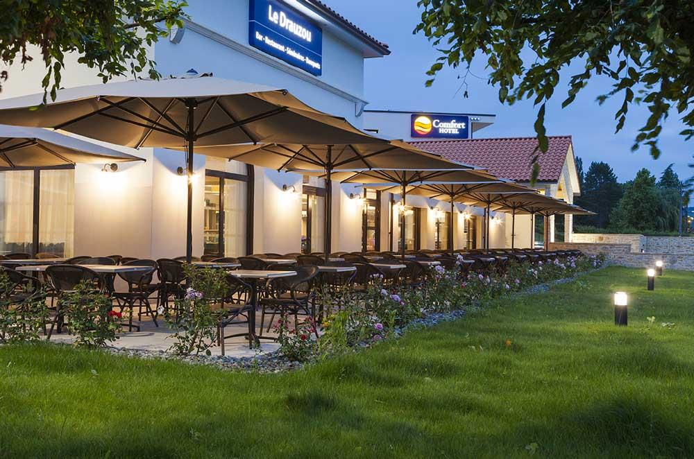 3 terraces Comfort hotel figeac seminar